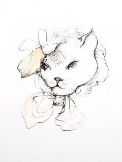 Leonor Fini Leonor Fini Cats Original Etching 1985 - 1075294