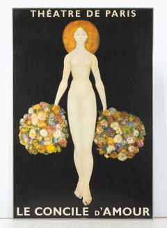 Leonor Fini Poster of Theatre De Paris Le Concile dAmour after Leonor Fini - 958064