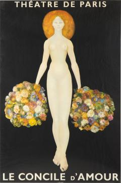 Leonor Fini Poster of Theatre De Paris Le Concile dAmour after Leonor Fini - 958300
