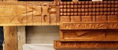 Leroy Setziol Sixteen Foot Hand Carved Wall Sculpture 1963 - 2112112