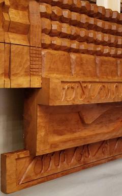 Leroy Setziol Sixteen Foot Hand Carved Wall Sculpture 1963 - 2112142