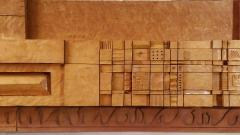 Leroy Setziol Sixteen Foot Hand Carved Wall Sculpture 1963 - 2112144