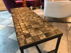 Les 2 Potiers Michelle et Jacques Serre Ceramic Coffee Table - 1956295