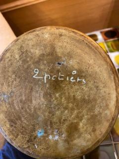 Les 2 Potiers Michelle et Jacques Serre Ceramic Pitcher - 1956246