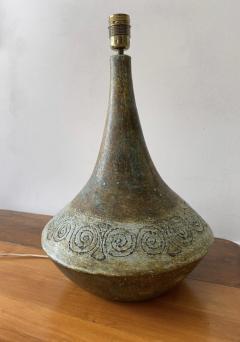 Les 2 Potiers Michelle et Jacques Serre Ceramic Table Lamp France 1960s - 1941903