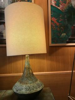 Les 2 Potiers Michelle et Jacques Serre Ceramic Table Lamp France 1960s - 1941906