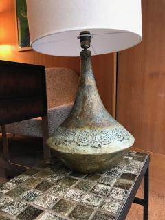Les 2 Potiers Michelle et Jacques Serre Ceramic Table Lamp France 1960s - 1941912