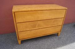Leslie Diamond Modernmates Three Drawer Dresser Chest by Leslie Diamond for Conant Ball - 1117819