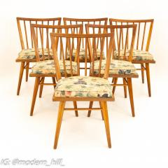 Leslie Diamond for Conant Ball Mid Century Dining Side Chairs Set of 6 - 1870022