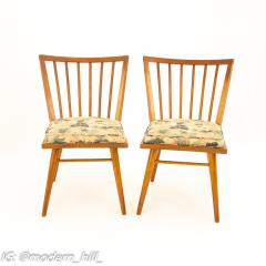 Leslie Diamond for Conant Ball Mid Century Dining Side Chairs Set of 6 - 1870024