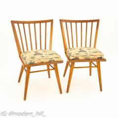 Leslie Diamond for Conant Ball Mid Century Dining Side Chairs Set of 6 - 1870025