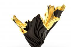 Levitaz Vase Gold Black - 1450348