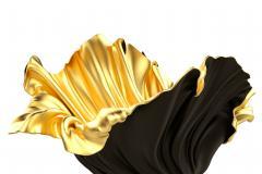 Levitaz Vase Gold Black - 1450349