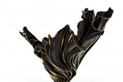 Levitaz Vase Gold Black - 1450350