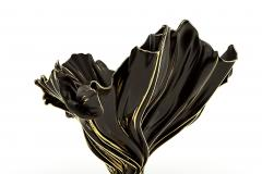Levitaz Vase Gold Black - 1450352