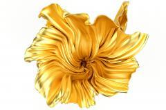 Levitaz Vase Gold Black - 1450355