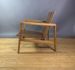 Lewis Butler Lewis Butler 645 Walnut Birch Lounge Chair Knoll USA - 1701837
