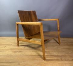 Lewis Butler Lewis Butler 645 Walnut Birch Lounge Chair Knoll USA - 1701838