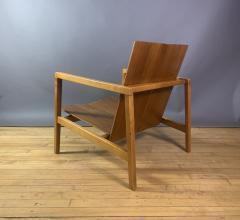 Lewis Butler Lewis Butler 645 Walnut Birch Lounge Chair Knoll USA - 1701840