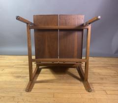 Lewis Butler Lewis Butler 645 Walnut Birch Lounge Chair Knoll USA - 1701842