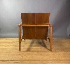 Lewis Butler Lewis Butler 645 Walnut Birch Lounge Chair Knoll USA - 1701843