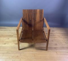 Lewis Butler Lewis Butler 645 Walnut Birch Lounge Chair Knoll USA - 1701844