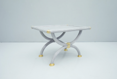Light Blue Side Table by StyleArte Italy 1980s - 1774757