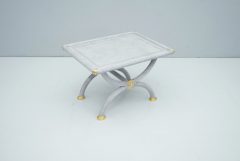Light Blue Side Table by StyleArte Italy 1980s - 1774763