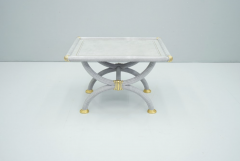 Light Blue Side Table by StyleArte Italy 1980s - 1774764
