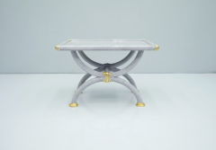 Light Blue Side Table by StyleArte Italy 1980s - 1774765