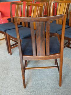 Linde Nilsson 10 Swedish Brazilian Rosewood Dining Chairs By Linde Nilsson    125140