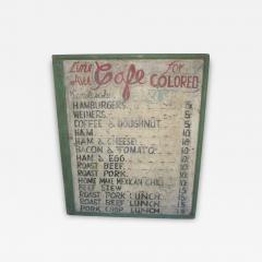 Line Avenue Cafe Sign - 631649