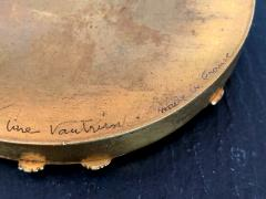 Line Vautrin A Bronze Compact Box by French Art Jeweler Line Vautrin - 945859