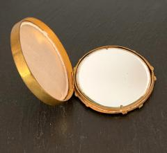 Line Vautrin A Bronze Compact Box by French Art Jeweler Line Vautrin - 945860
