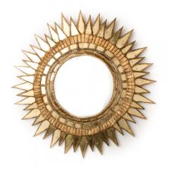 Line Vautrin A Soleil pointes style mirror in the manner of Line Vautrin - 2007379