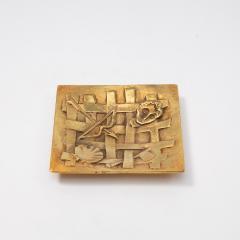 Line Vautrin A gilded bronze pocket emptier Holopherne  - 1222223