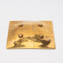 Line Vautrin A gilded bronze pocket emptier Holopherne  - 1222225