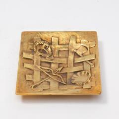 Line Vautrin A gilded bronze pocket emptier Holopherne  - 1222226