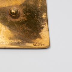 Line Vautrin A gilded bronze pocket emptier Holopherne  - 1222227