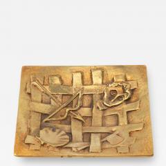 Line Vautrin A gilded bronze pocket emptier Holopherne  - 1222889