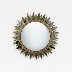 Line Vautrin A soleil a pointes number 3 convex Mirror - 1145474
