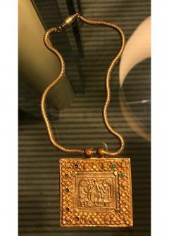 Line Vautrin An Early Gilt Bronze Necklace by Line Vautrin - 833275