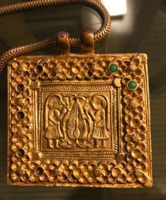 Line Vautrin An Early Gilt Bronze Necklace by Line Vautrin - 833276