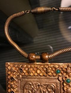 Line Vautrin An Early Gilt Bronze Necklace by Line Vautrin - 833278