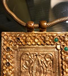 Line Vautrin An Early Gilt Bronze Necklace by Line Vautrin - 833279