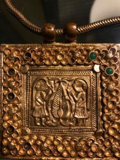 Line Vautrin An Early Gilt Bronze Necklace by Line Vautrin - 833281