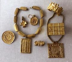 Line Vautrin An Early Gilt Bronze Necklace by Line Vautrin - 833283