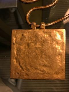 Line Vautrin An Early Gilt Bronze Necklace by Line Vautrin - 833284