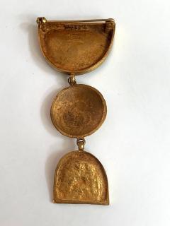 Line Vautrin Articulate Bronze Brooch Pergatoire by Line Vautrin - 955540