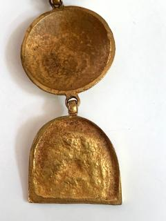 Line Vautrin Articulate Bronze Brooch Pergatoire by Line Vautrin - 955543